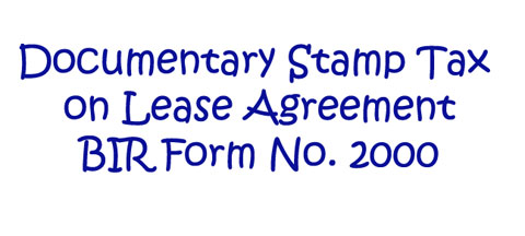 Davao-Blog-BIR-Obligation-when-Renting-an-Office-or-Commercial-Space-Doc-Stamp-Tax-2000