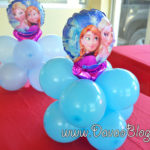 How-to-make-a-simple-Center-Table-Frozen-Balloon-for-Birthday-or-Parties