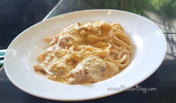 Yummy Pasta at Apo View Hotel Davao Restaurant
